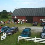 2009 - der Hof ist voll geparkt