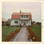 1966 - Ragnar vor dem Haus