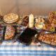 2016 - eine neue Idee für Ostern: Kuchenbuffet mit Lotterie