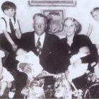 1956 - Elin &Ragnar mit ihren Enkelkindern