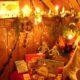 2009 - so stimmungsvoll in den Kirchenställen, aber viel Arbeit für nur 3 Stunden Weihnachtsmarkt