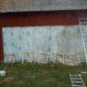 2012 - die Sonne lockte uns noch mehr Fassadenstücke zu streichen