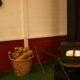 2010 - ein kleiner Bullerofen im Gästeraum
