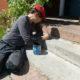 2011 - Ann malt Tierspuren