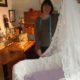 2012 - Ann nähte die Verkleidung des Babybettes