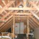 2012 - so sah es unter Dach aus, als wir mit den Bauarbeiten begannen...