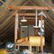 2012 - zuerst kam die Isolierung des Dachstuhls
