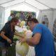 2014 - Sommerfest mit Wettbewerben, hier: Rasiere den Luftballon
