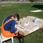 2008 - während Kex baut, malt Ann alles was es zu malen gibt