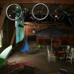 2008 - die Gäste fanden unseren provisorischen Gästeraum toll